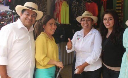 Nereida se compromete a potenciar el desarrollo económico de Tecate