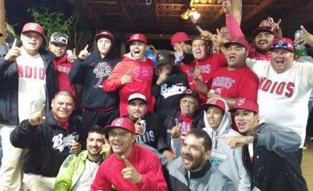 Los Indios de Lázaro Méndez son los campeones de la liga de béisbol de Tecate