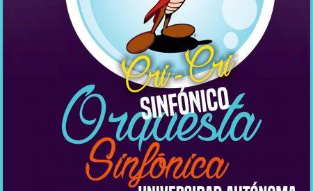 Invita UABC a Concierto CriCri Sinfónico