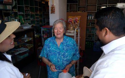 Benja Gómez da a conocer sus propuestas para los adultos mayores