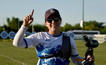 La arquera tijuanense, Ana Gabriela Bayardo Chan, recibe el reconocimiento de Embajadora Deportiva y representará a México en Río 2016