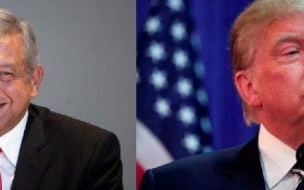 Amlo vs Trump