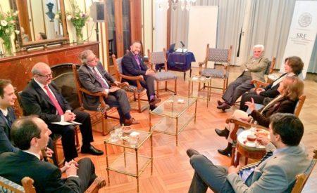 #PensarAMéxico iniciativa que impulsa el futuro de la relación bilateral: Embajador Castro Trenti