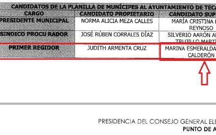 Marina Calderón la candidata de MC ególatra