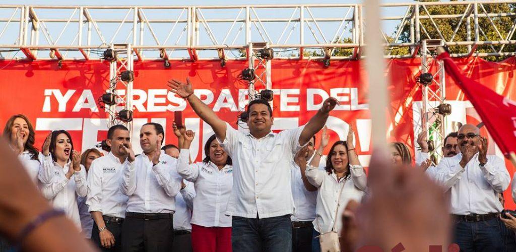 """""""Se ve, se siente, Nereida Presidente"""""""