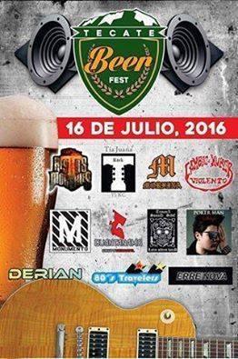Tecate Beer Fest 2016