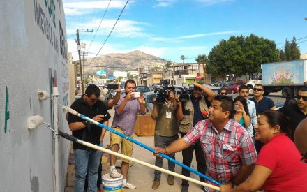 Inicia brigada de limpieza de Nereida Fuentes y Benja Gómez
