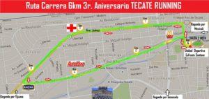 Ruta Tecate Running 3er aniversario