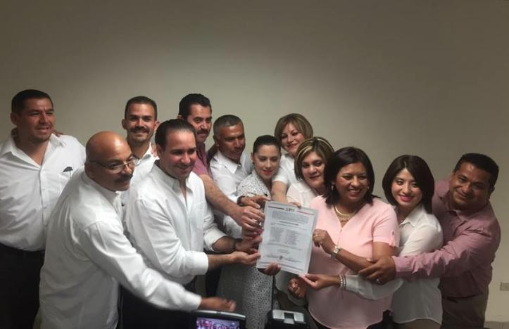 PRI recibe Constancia de Mayoría en Mexicali Nereida Fuentes primera alcaldesa de Tecate