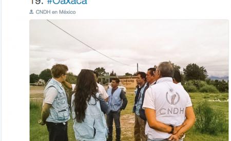 ONU-DH condena violencia en Oaxaca