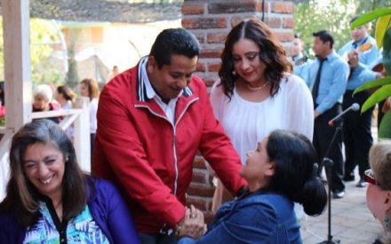 Apoya Benja Gómez a talentos deportistas de Tecate