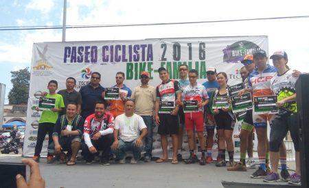 Exitoso Paseo Ciclista Bike-Familia 2016