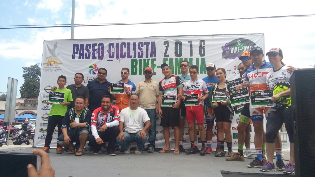 Paseo Ciclista Bike-Familia 2016