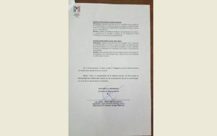 Exigen que PGR atraiga denuncia contra Gustavo Sánchez