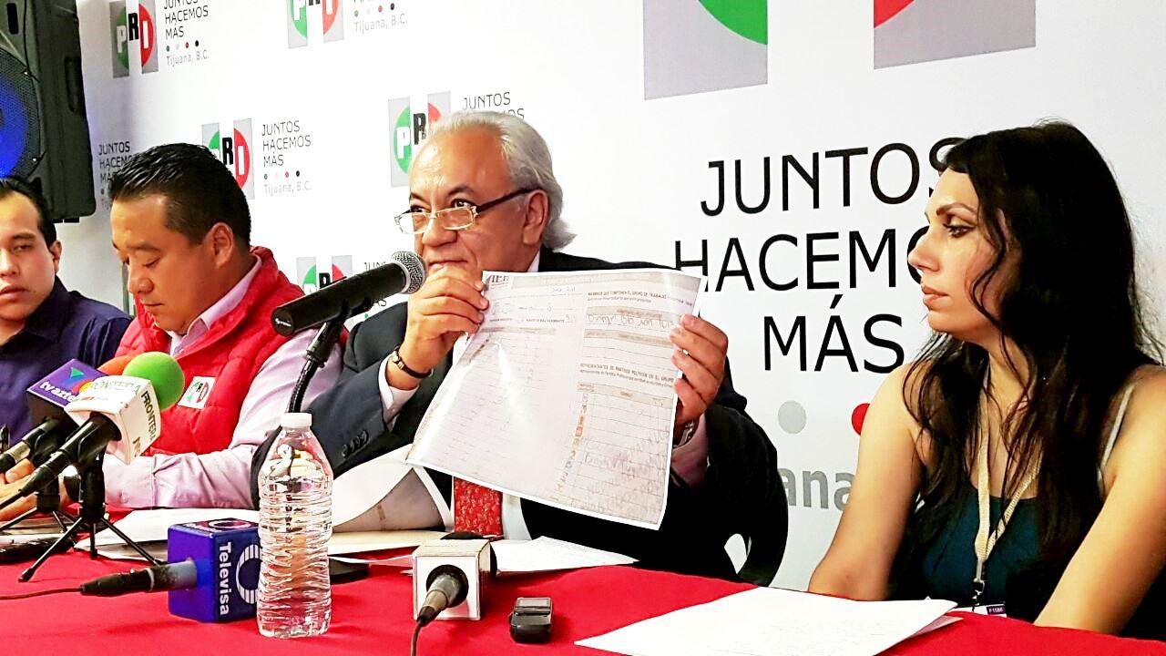 Fraude Electoral alega Delegado del CEN en Tijuana