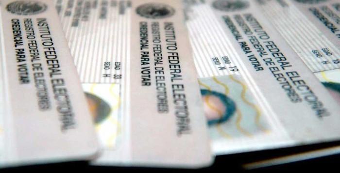 7422 credenciales del INE están ya disponibles