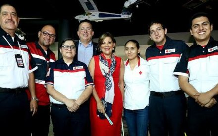 Cierre oficial de la Colecta Cruz Roja 2016.