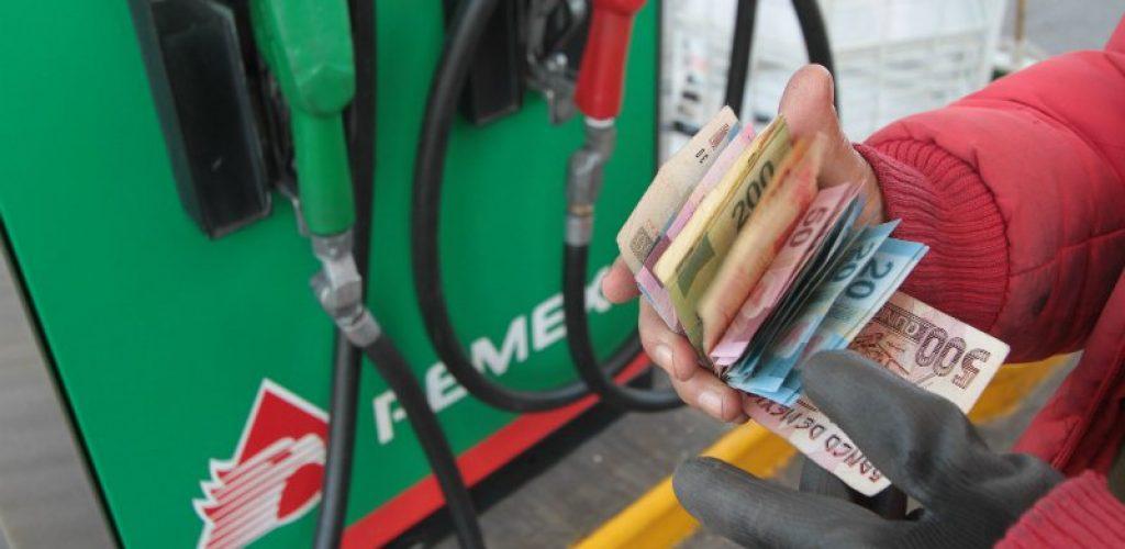 Gasolina tendrá aumento de hasta 34 centavos este viernes
