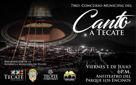 """Asiste al 7mo concurso """"Canto a Tecate"""""""