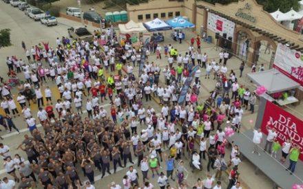 Miles celebran el Día Mundial del Bienestar en Tecate
