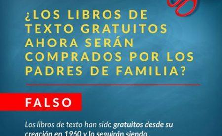 Libros gratuitos y sin cuotas escolares con Reforma Educativa