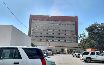 Se incendia Hospital General de Tijuana