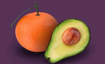 Los precios: Aguacate, naranja y jitomate vs limón, uva y tomate verde