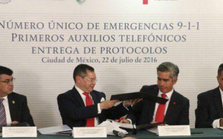 Número de emergencia 911, funcionará por completo en 2017