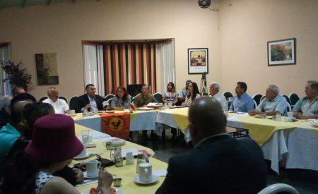 Se reúne Secretario General de Gobierno con Grupo Madrugadores de Tecate