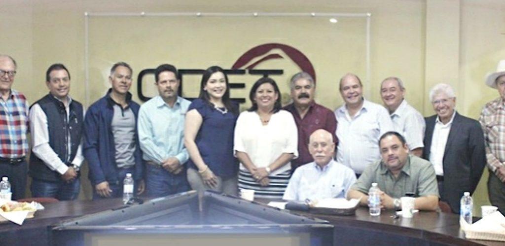 Nereida Fuentes y CDET Concretan plan de trabajo en favor de Tecate