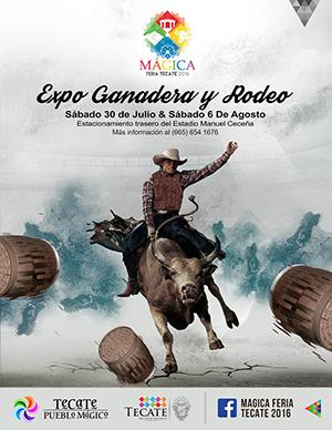 Expo Ganadera y Rodeo en Mágica Feria Tecate 2016