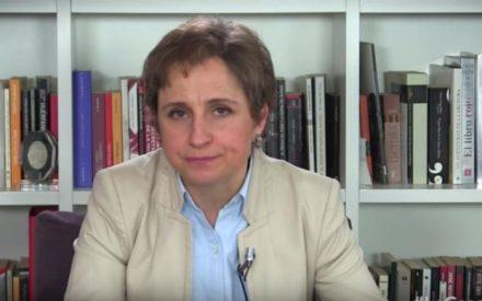 """Aristegui denuncia hostigamiento por investigación de """"La Casa Blanca"""""""