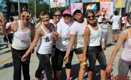 'Color Run Tach Tecate' se vivió al máximo