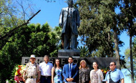 144 aniversario luctuoso de Benito Juárez