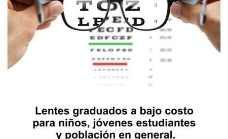 ¿Necesitas lentes o un exámen de la vista? El DIF te ayuda