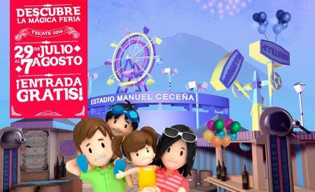 Más y mejores atracciones para la Feria Mágica de Tecate