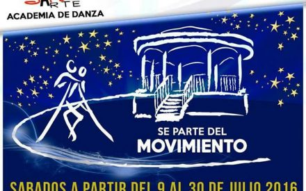 Te invitamos a las Noches de Salsa en el Parque Miguel Hidalgo