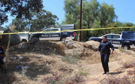 Encuentran cuerpo sin vida en colonia El Encanto Sur Tecate