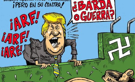 Caricaturista tijuanense es censurado por criticar a Trump