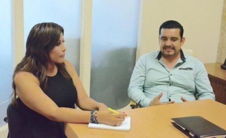 Claudia Agatón se compromete a trabajar de la mano de CUME