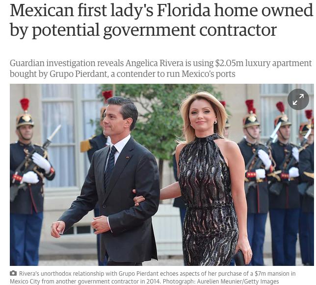 """Diario británico hace publica la otra """"Casa Blanca"""" de Angelica Rivera"""