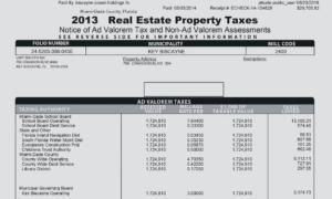 impuestos del departamento de miami de angerlica rivera