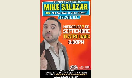 Disfruta del show del comediante Mike Salazar