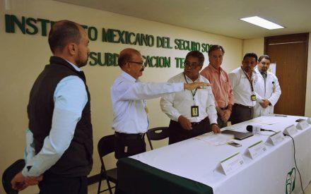 IMSS presentó nuevo Subdelegado en Tecate