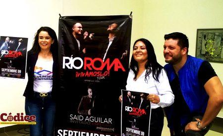 CESPTE y Gobierno del Estado presentan magno concierto de RIO ROMA.