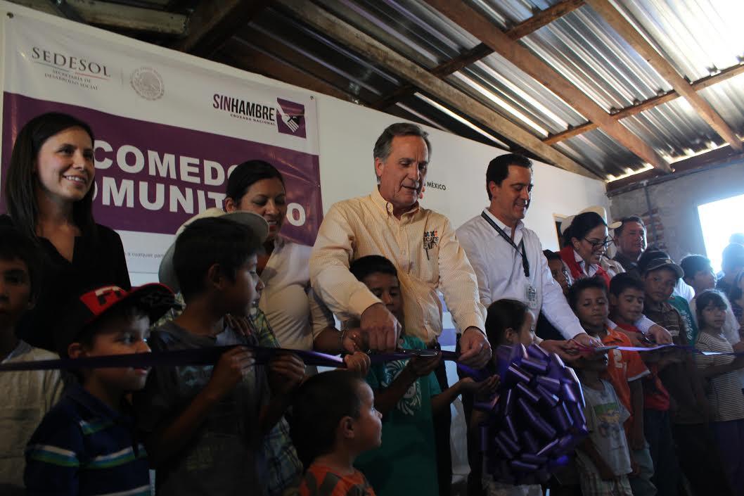 Se inaugura comedor comunitario en beneficio de la Nva. Colonia Hindú