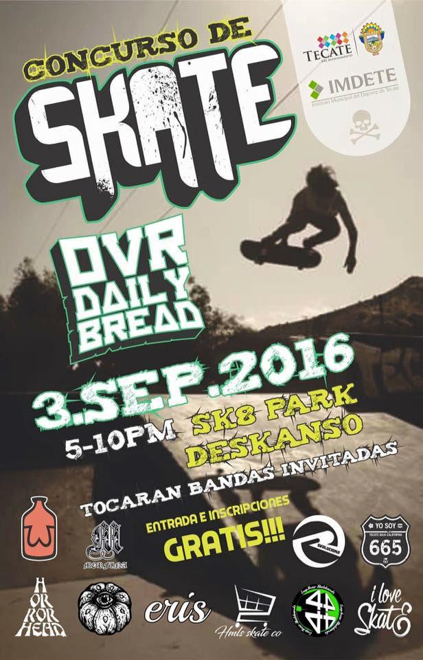 ¿Te gusta el Skate? ¡Participa en el concurso!