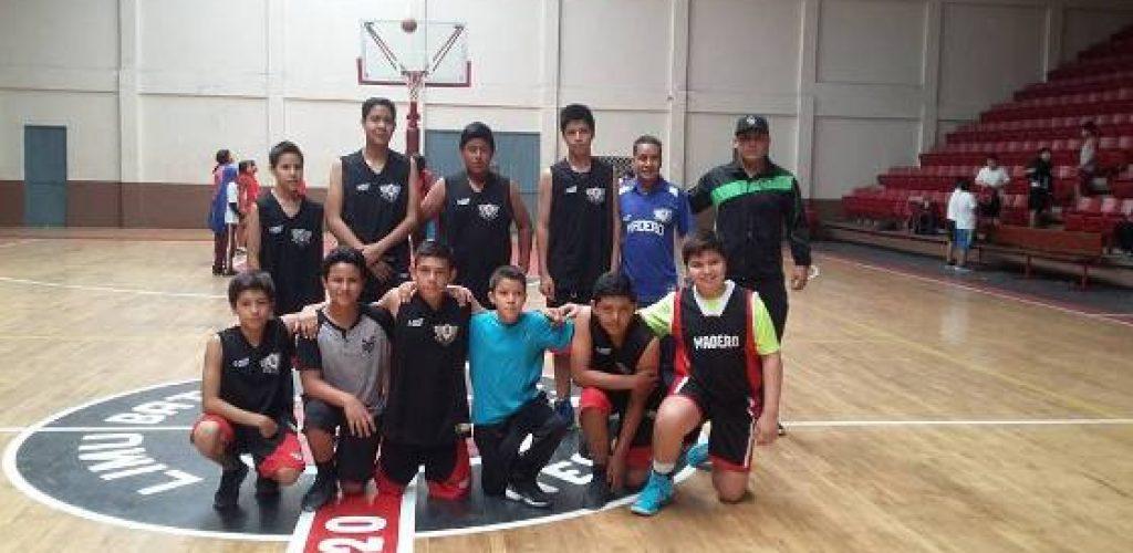 Inician Juegos Deportivos Nacionales con básquetbol Municipal