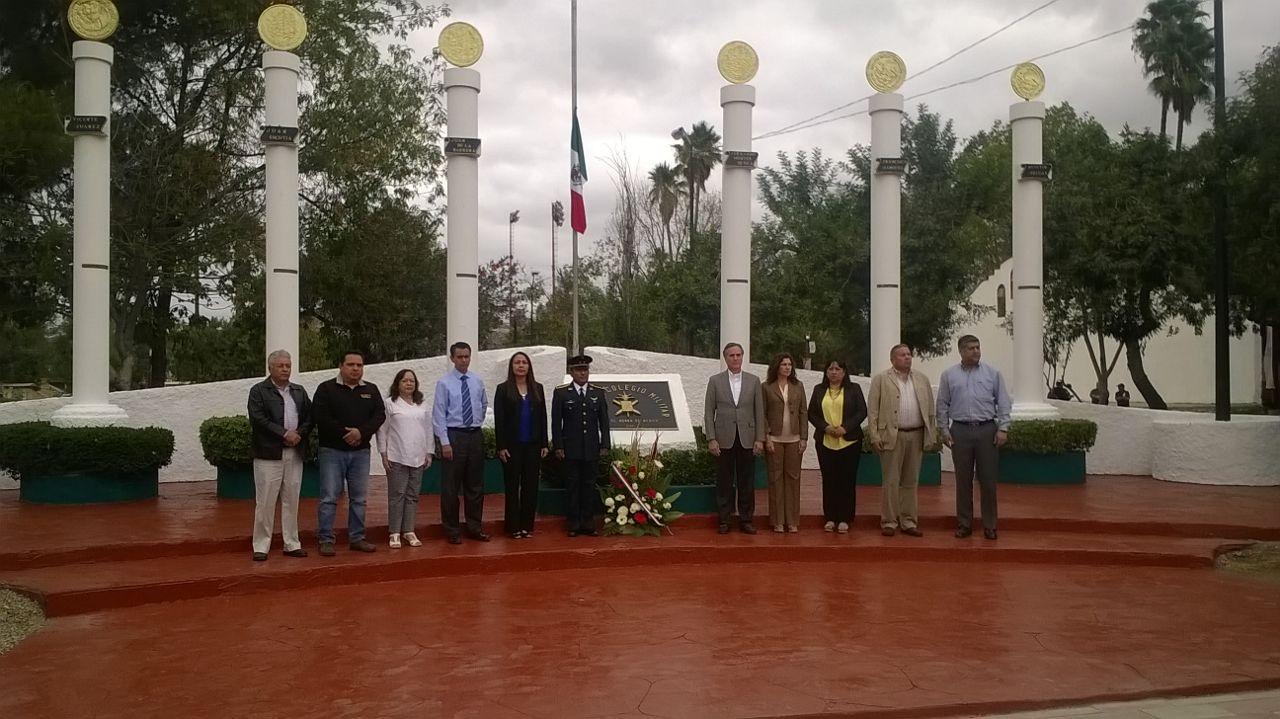 Conmemoran a Niños Héroes en Tecate