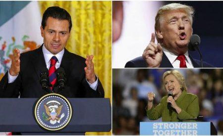 El PRI respalda a Peña Nieto por invitación a Donald Trump y Hillary Clinton